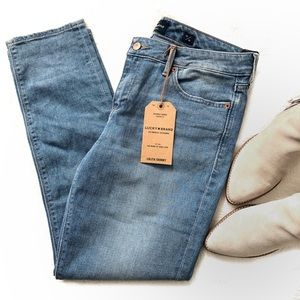 Lucky Brand Lolita Skinny Distressed Ankle Jeans